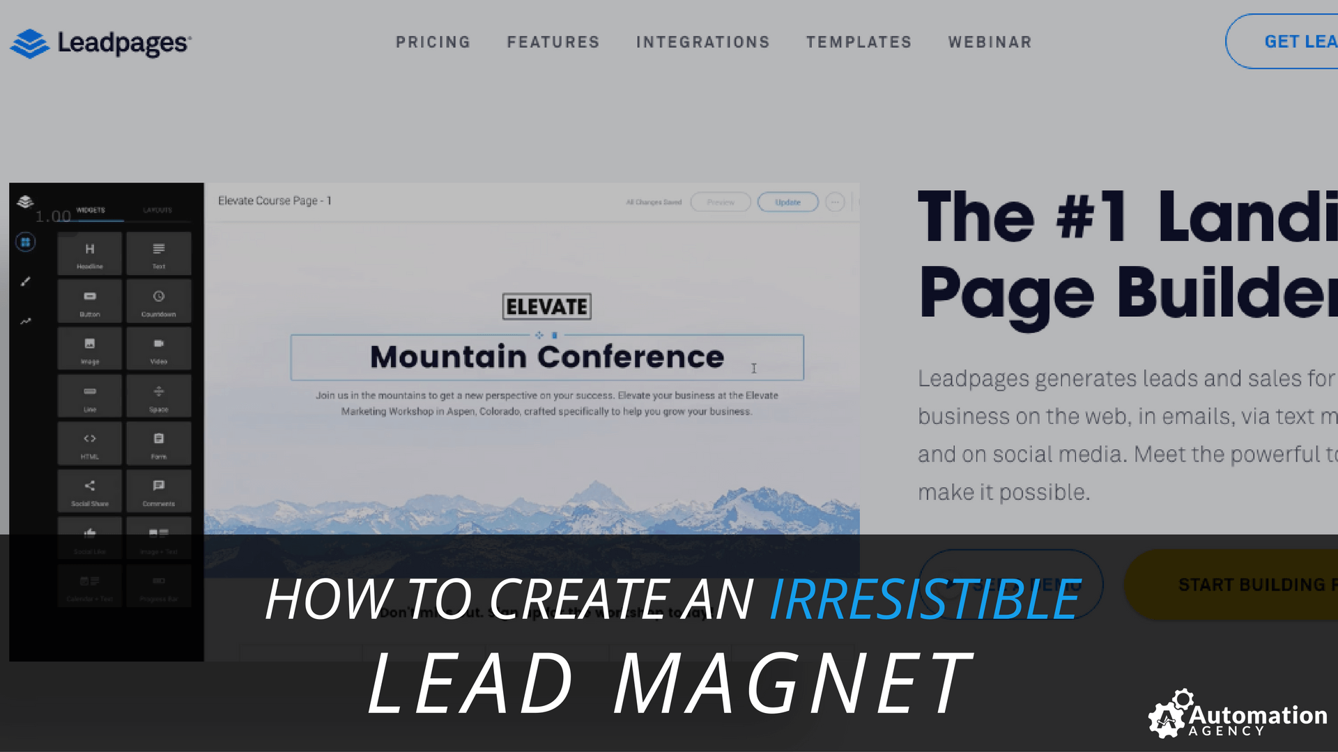 how to create an irresistible lead magnet
